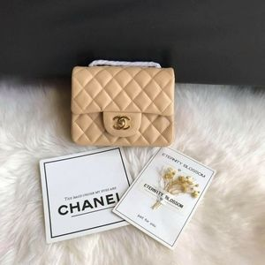 Chanel Classic flap bag Check description